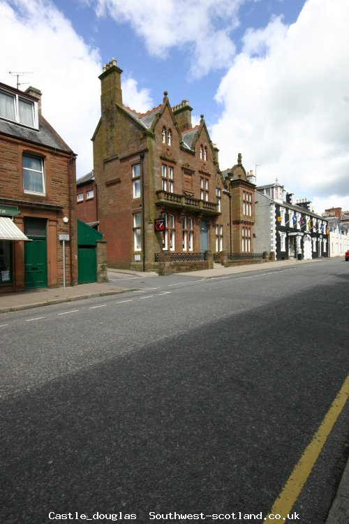 Castle Douglas high street