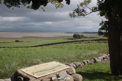 View across the Solway at Drumburn