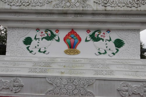 Ornaments on The Victory Stupa