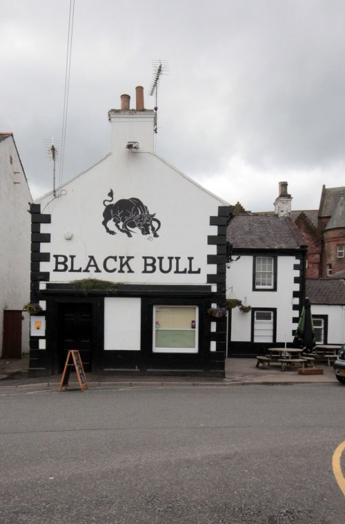 The black Bull Lockerbie