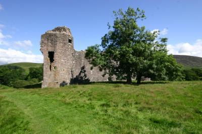 morton_castle remains
