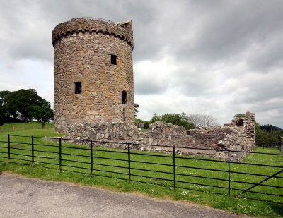 Orchardton tower Palnackie